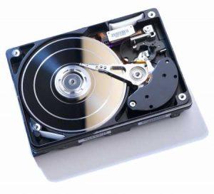 Fataler Headcrash einer Festplatte